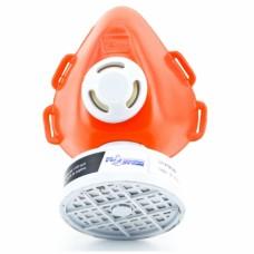 Respirador 1/4 Facial Plastcor Com 1 Filtro Incluso VO CA 39428