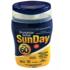 Protetor Solar SunDay FPS 60